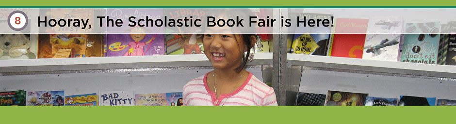 Scholastic Book Fair. Hooray, The Scholastic Book