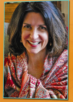 Children's book author Blue Balliett