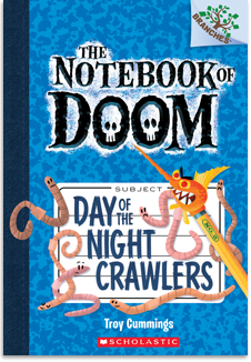 the notebook of doom the notebook of doom day of the night crawlers