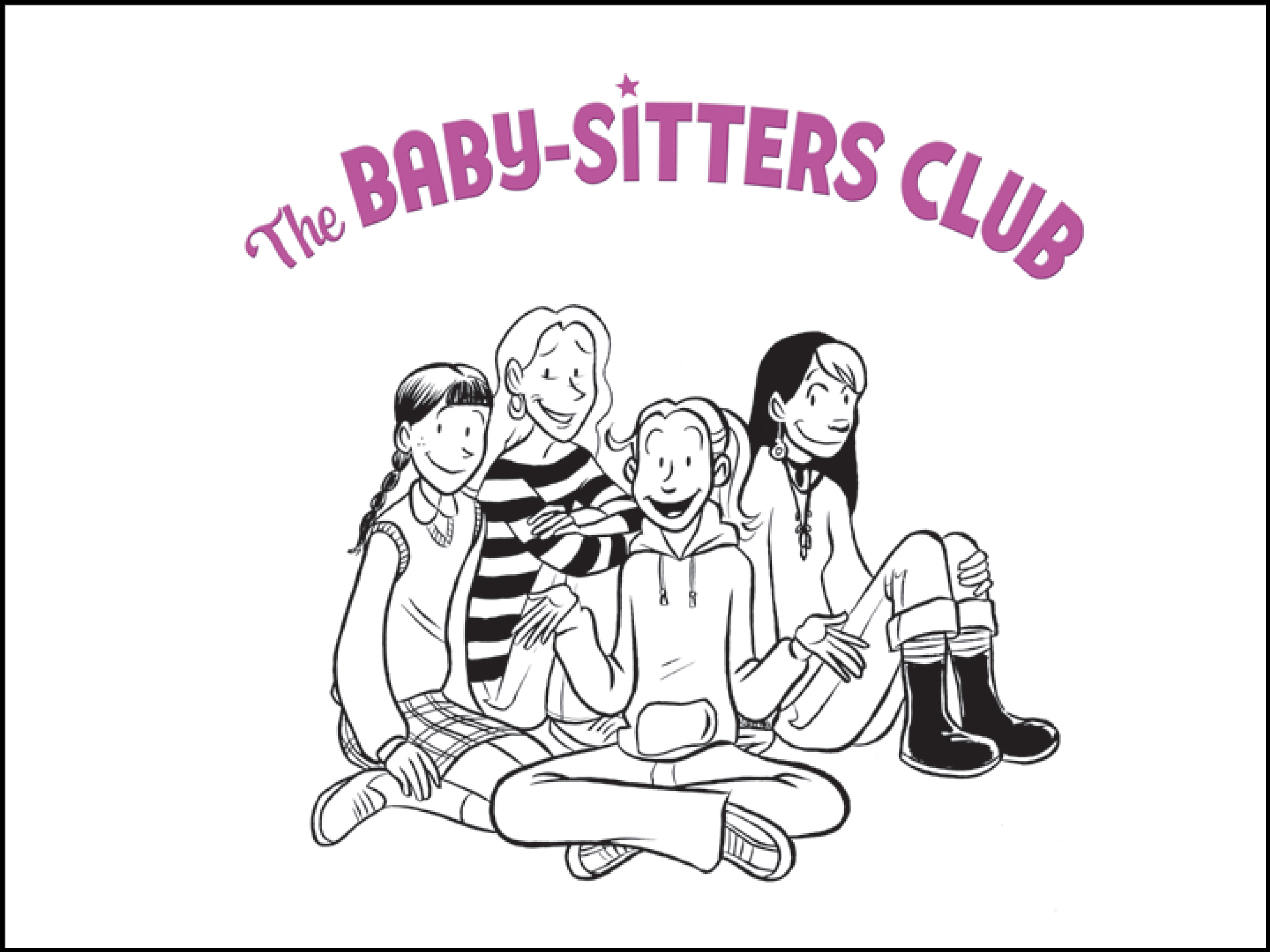 babysitters club coloring pages - photo#5