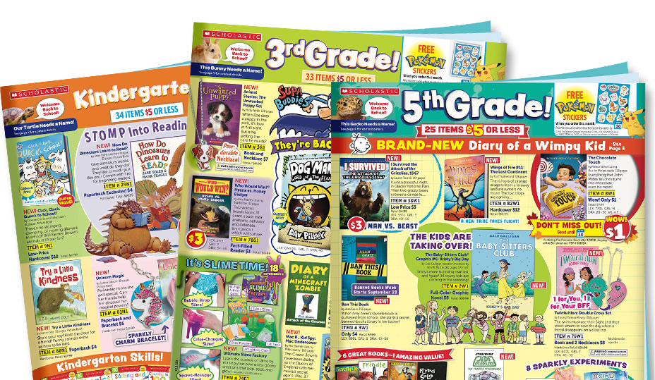 Image result for scholastic book flyers 2019