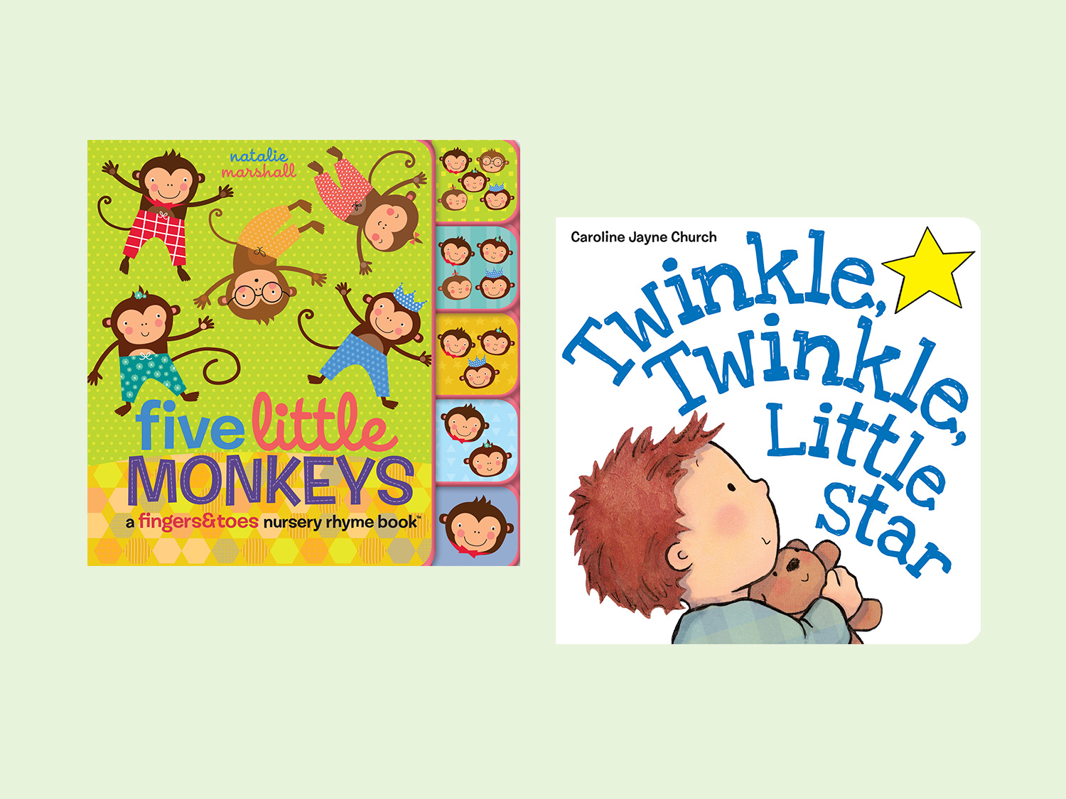 Nursery Rhyme Board Books For Toddlers