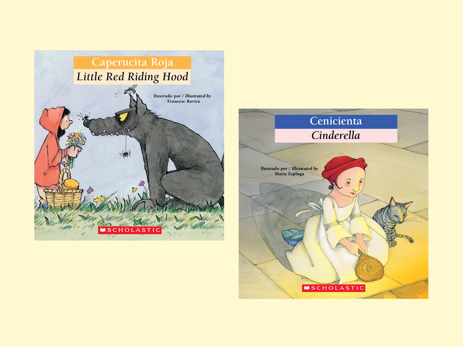 Fairy Tale Classics in Spanish-English Versions | Scholastic | Parents