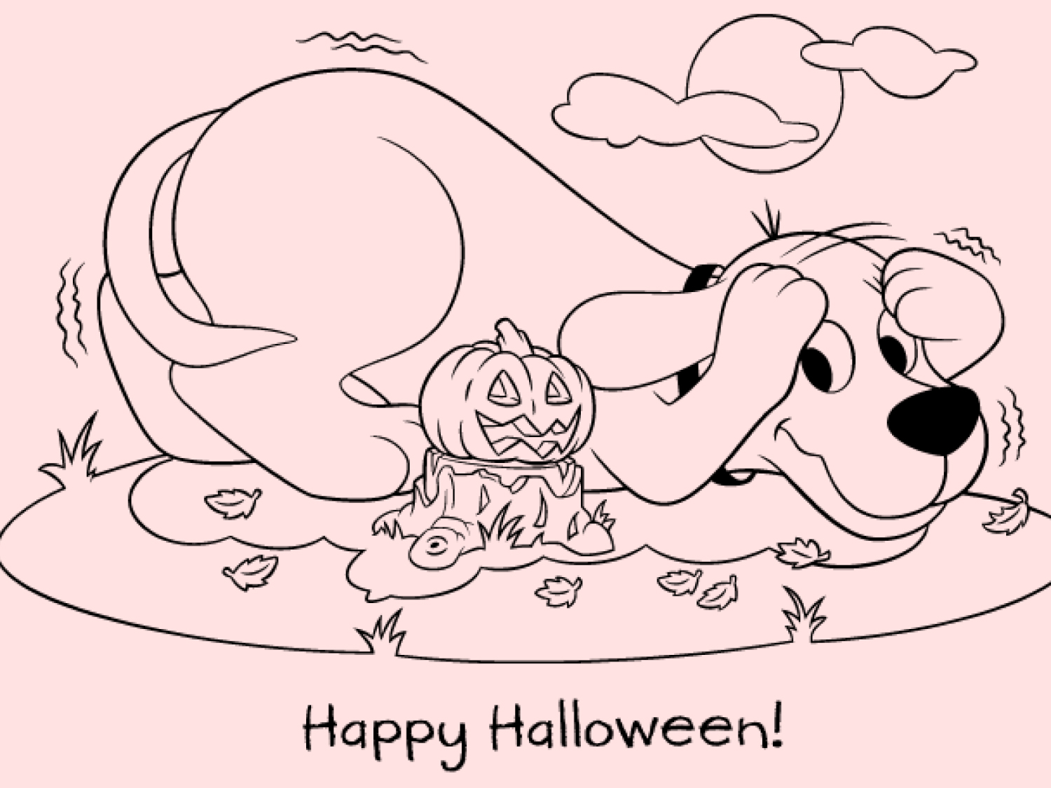 - Happy Halloween From Clifford Scholastic Parents