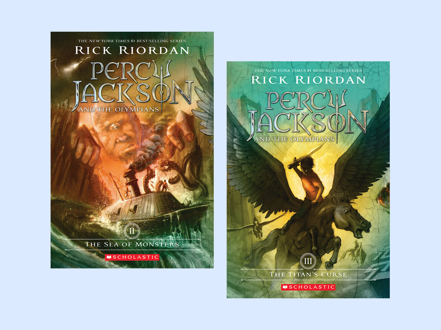 Percy Jackson and the Heroes of Olympus | Scholastic | Parents