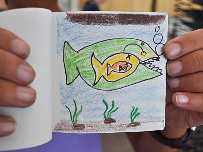Create A Diy Flip Book With Your Little Artist Scholastic Parents