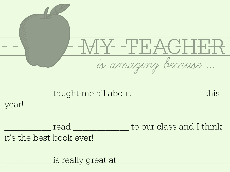 Teacher Appreciation Week Letter Idea | Scholastic | Parents