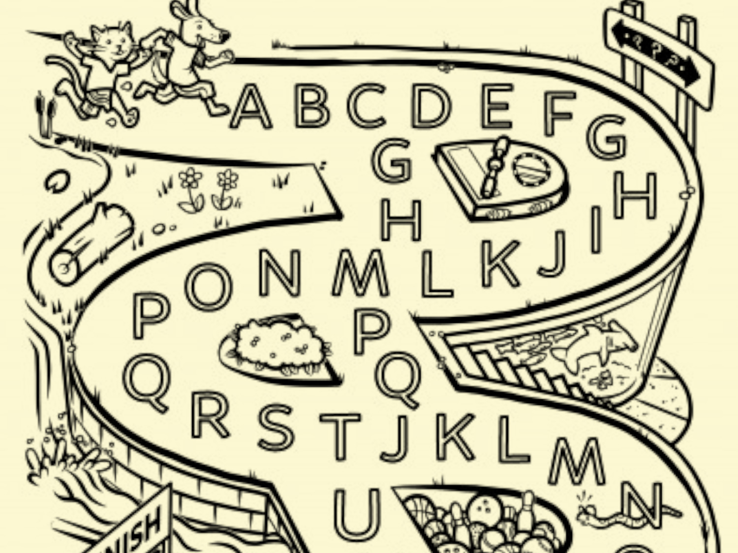 Free Printable Alphabet Activities For Toddlers