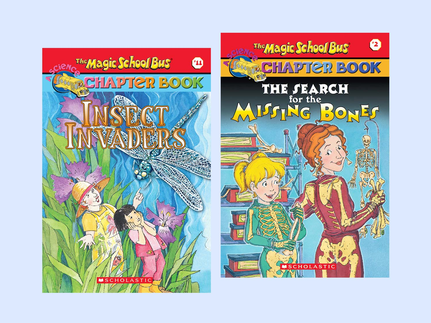 the magic school bus chapter books