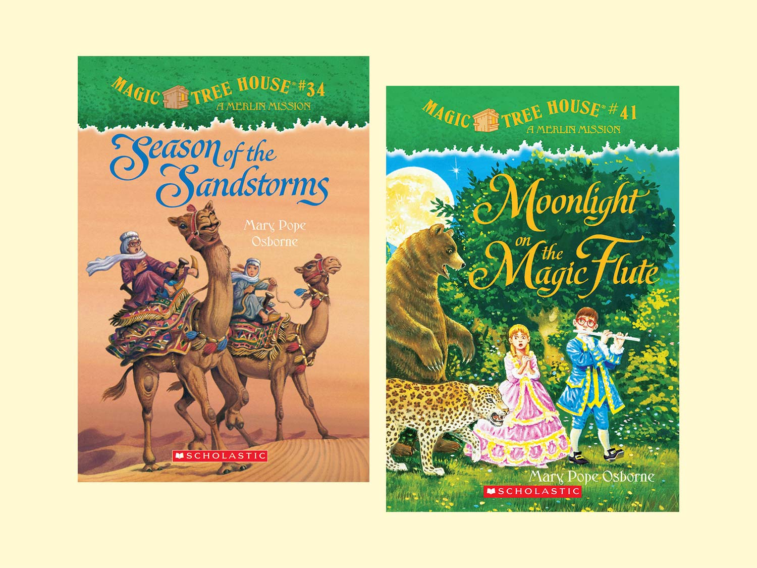 the magic tree house series