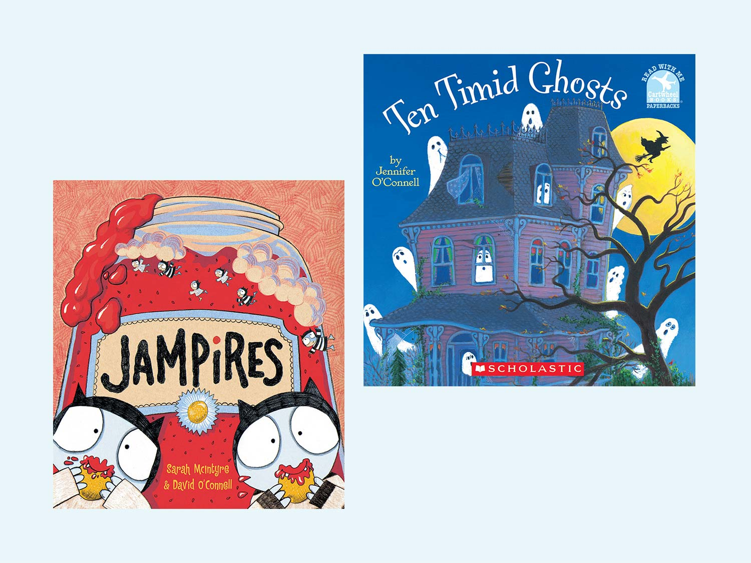 Spooky (But Not Too Scary) Picture Books | Scholastic | Parents