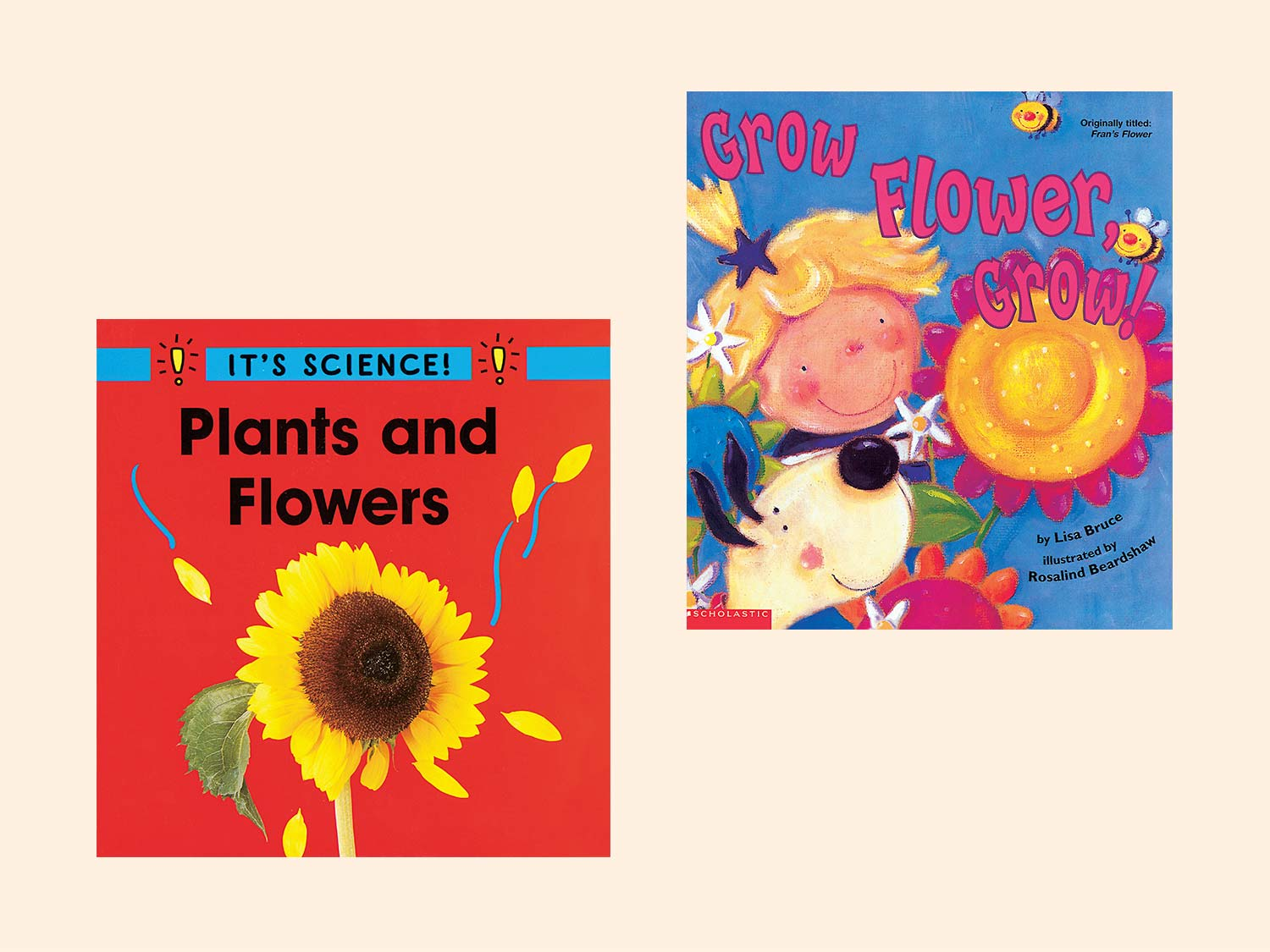 Children 39 s books about flowers gardening scholastic parents for Children s books about gardening