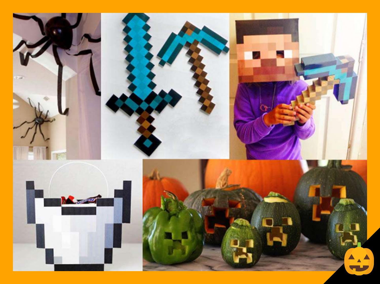 minecraft halloween costume and crafts | scholastic | parents