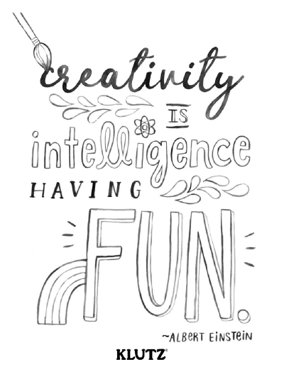 Printable Inspirational Coloring Pages From Klutz Scholastic Parents