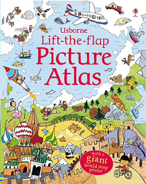 9 map books for kids scholastic parents picture atlas by alex frith engages young children by combining nifty flaps to lift with interesting facts about places all around the world gumiabroncs Image collections