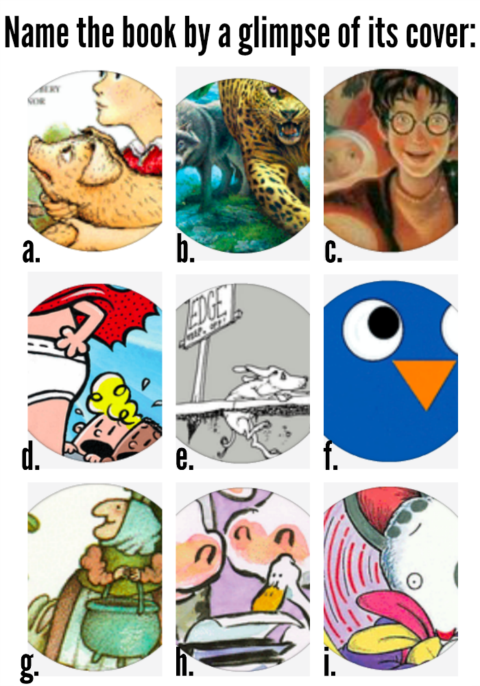 Book Cover Printable Quiz : Printable cartoon picture quiz ankaperla