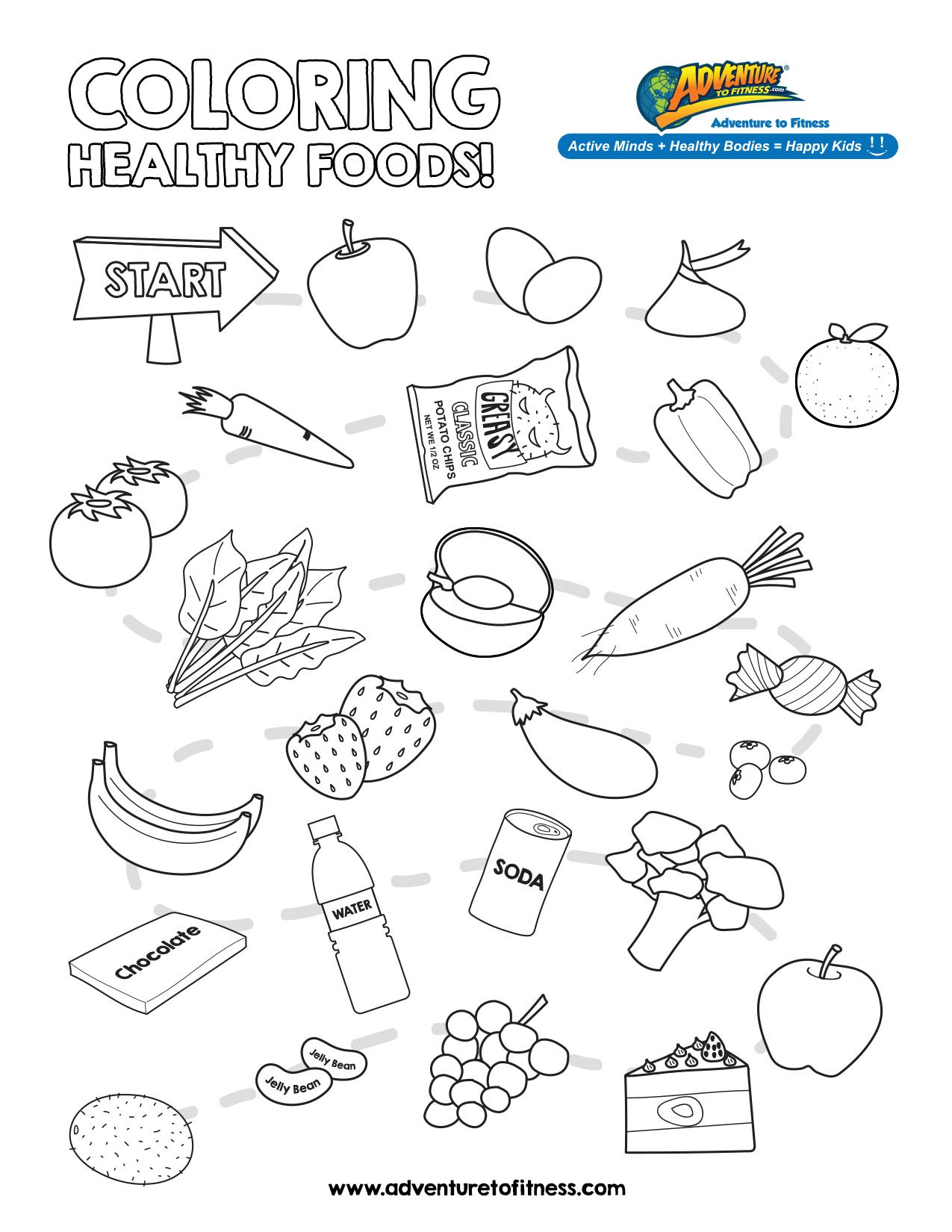 snack coloring pages kids - photo#13