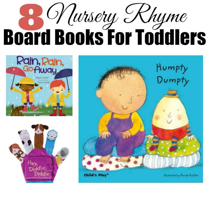 8 Nursery Rhyme Board Books For Toddlers Scholastic Pas