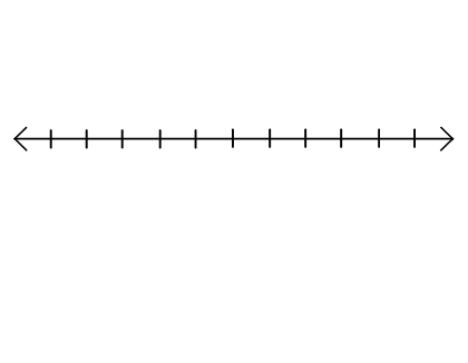 Enterprising image with blank number lines printable