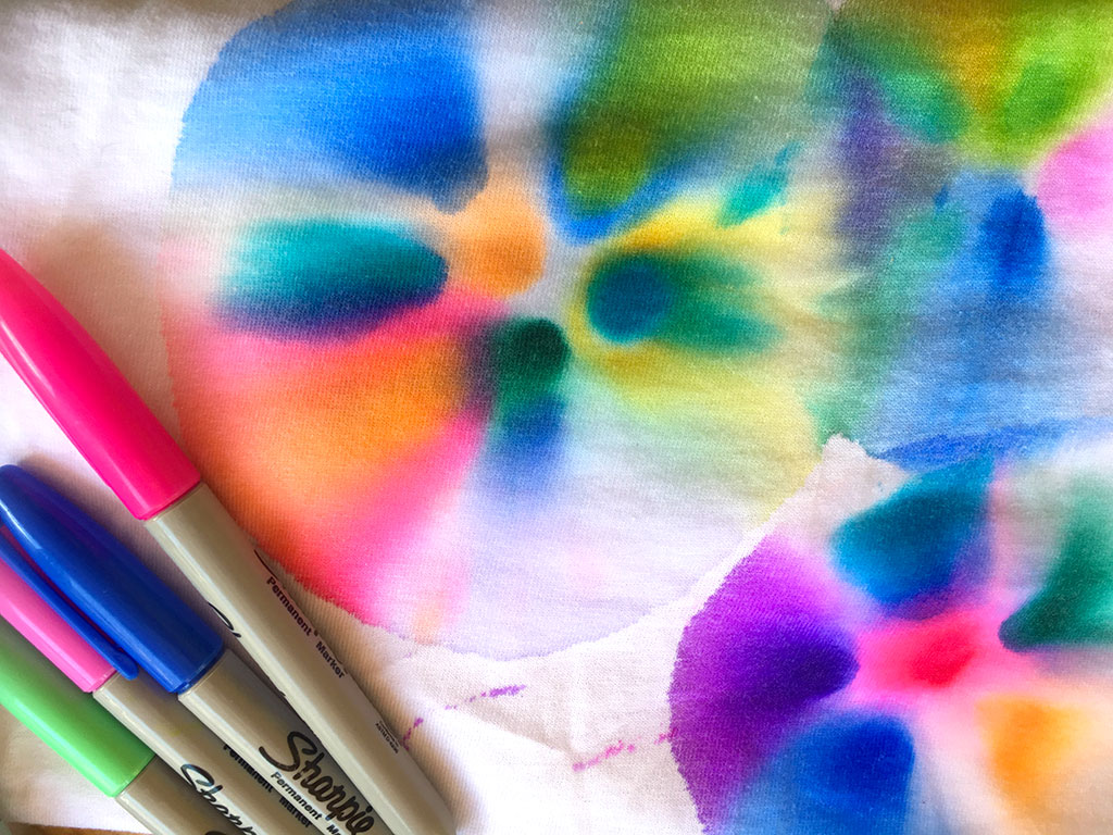 Tie Dye Crafting With Markers Scholastic Parents