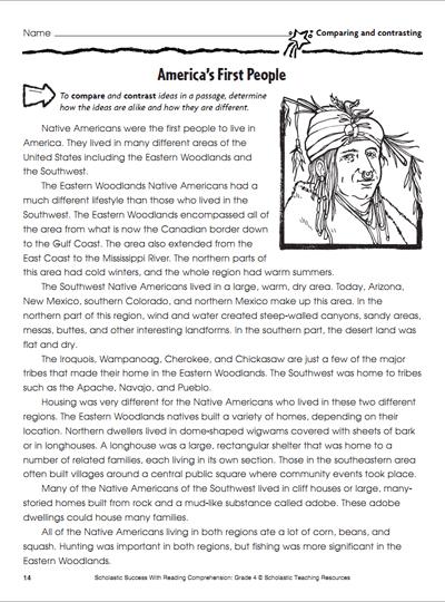 America's First People | Worksheets & Printables ...