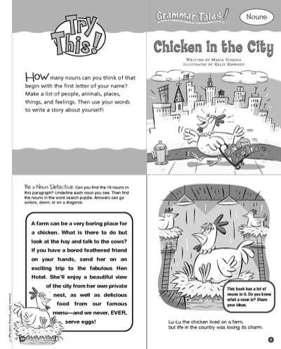 Grammar tales 10-book set, scholastic teaching resources, 035303.