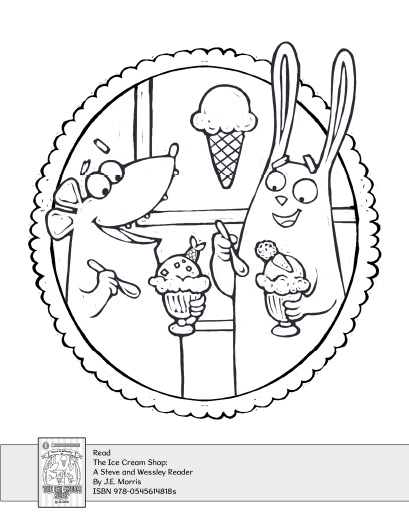 ice cream store coloring pages - photo#20