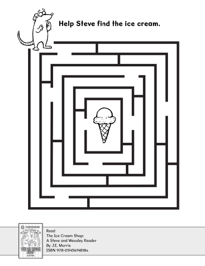 Find the Ice Cream in the Maze | Worksheets & Printables