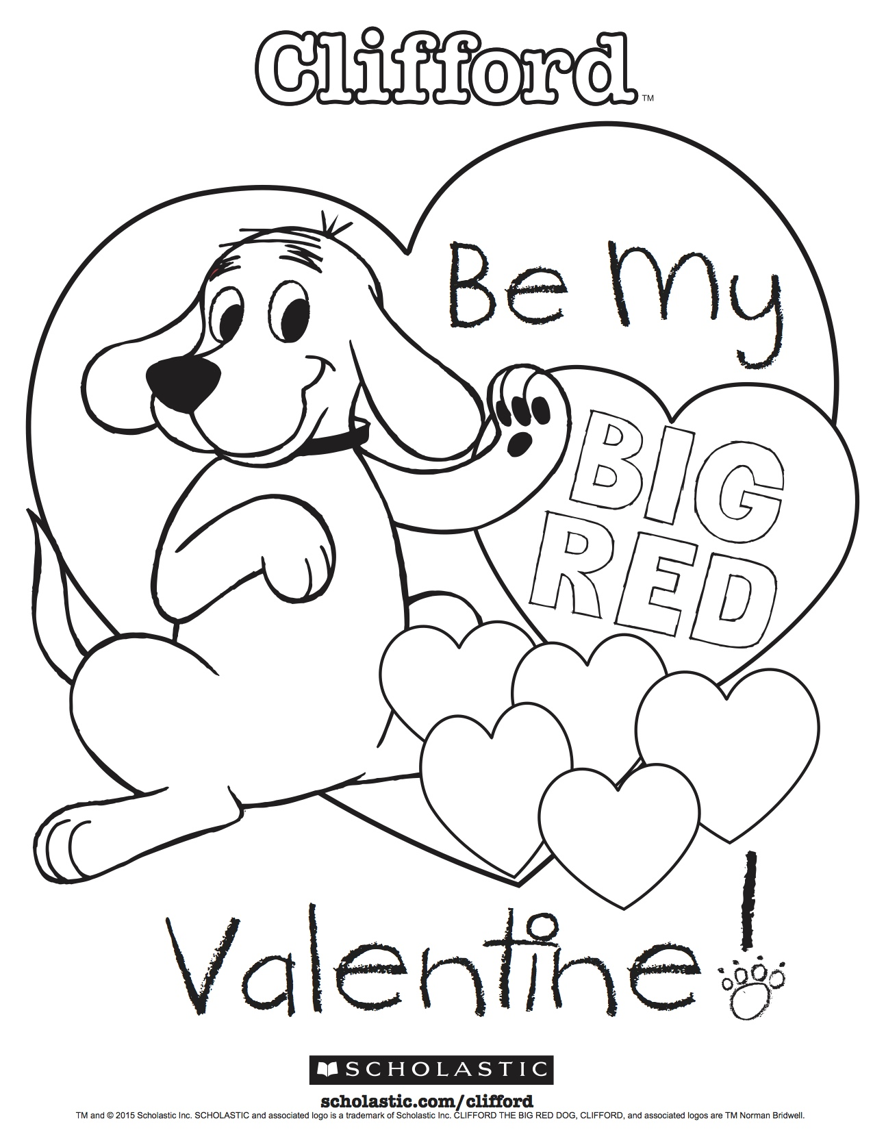 Clifford 39 s My Big Red Valentine
