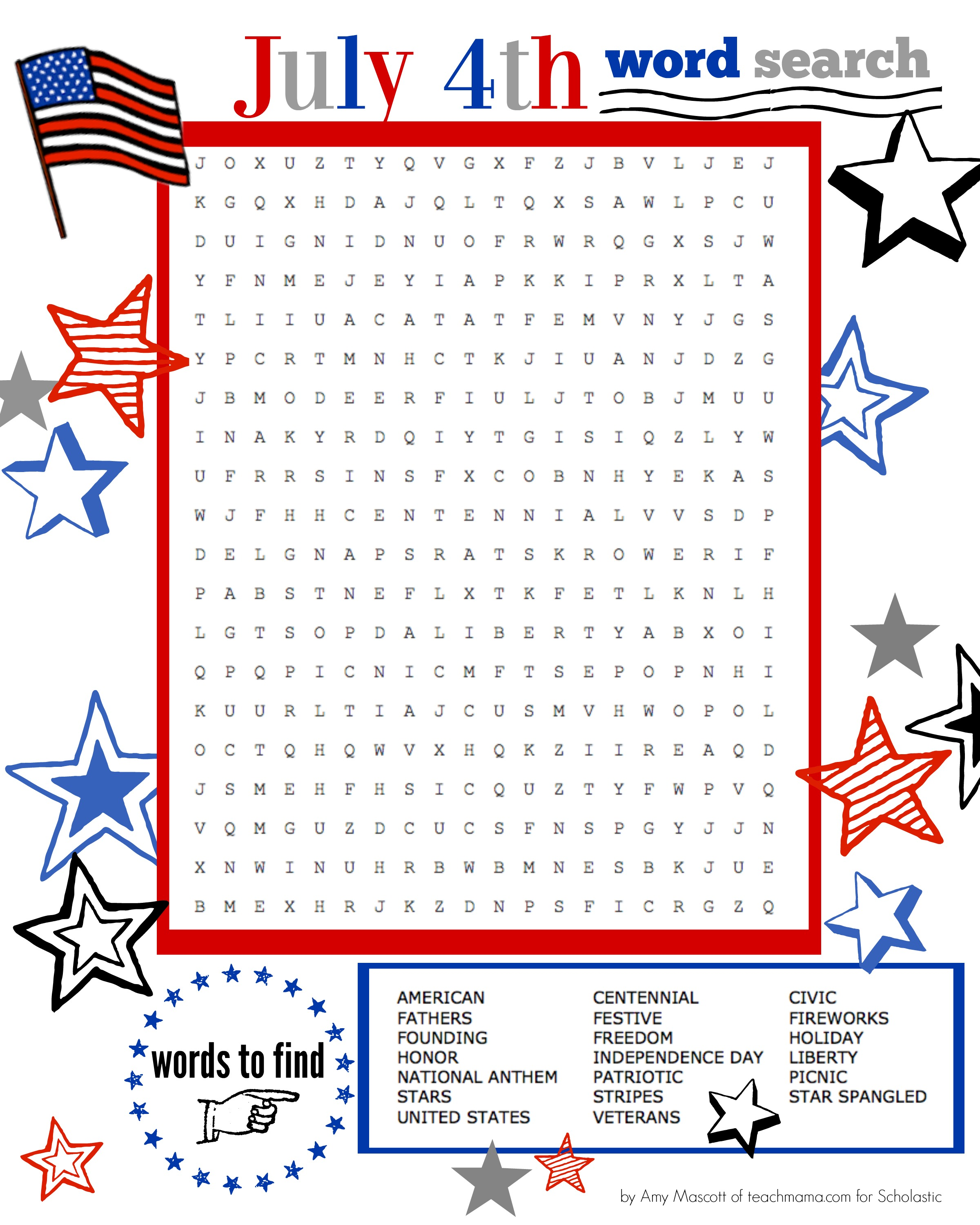 It is a picture of Nifty Words Search Printable Worksheets