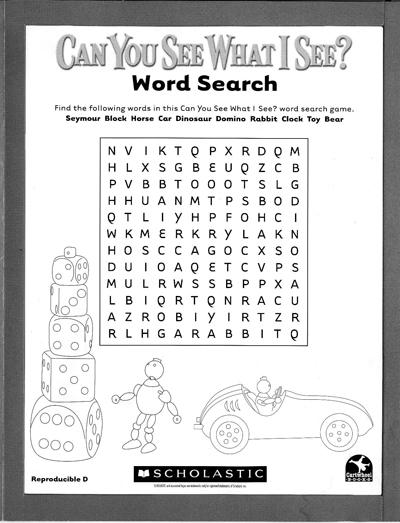 Wizard of oz word scramble