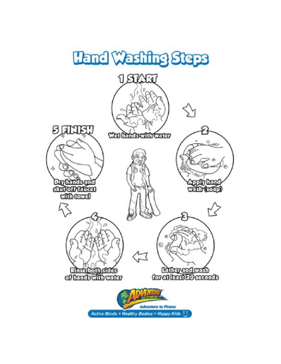 Hand Washing Printable Worksheets & Printables Scholastic Parents