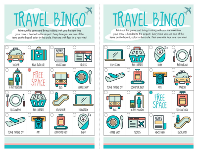 It is an image of Agile Traveling Bingo Cards