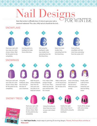 Nail Art Print Out Designs
