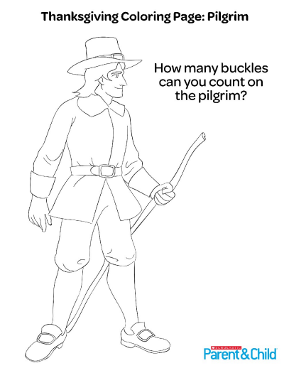Pilgrim Coloring Pages - GetColoringPages.com | 518x400