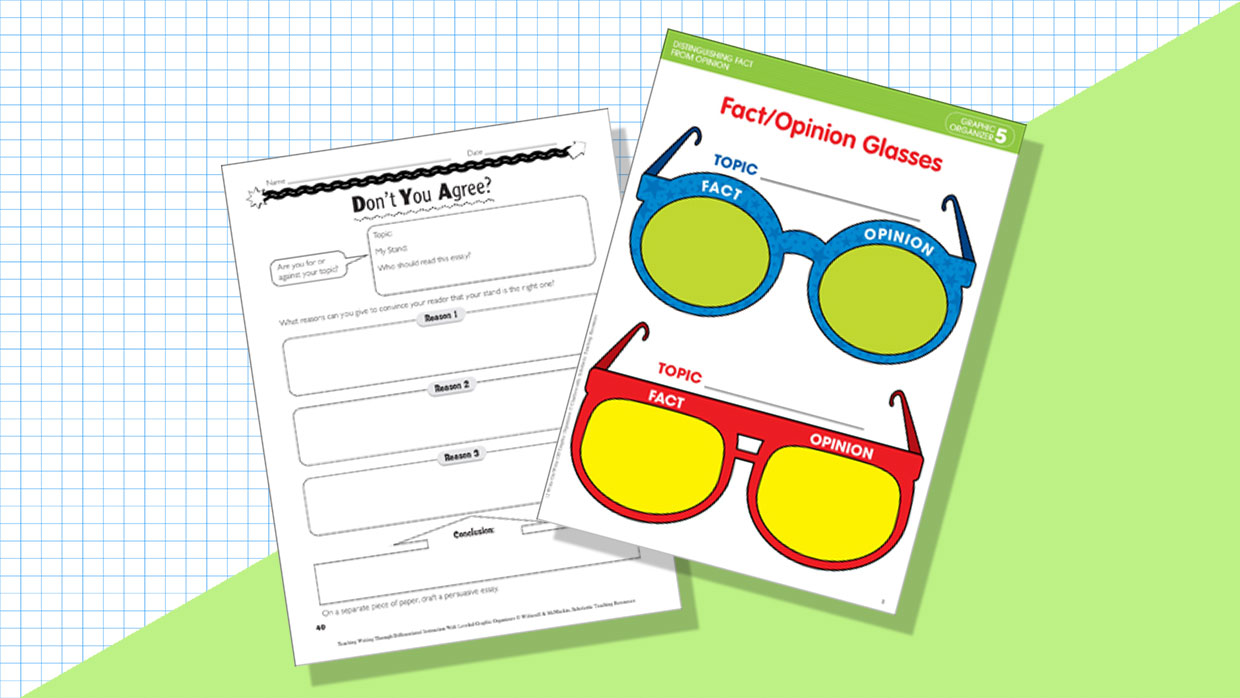 6 Graphic Organizers To Help Students Express Their Opinions In Writing