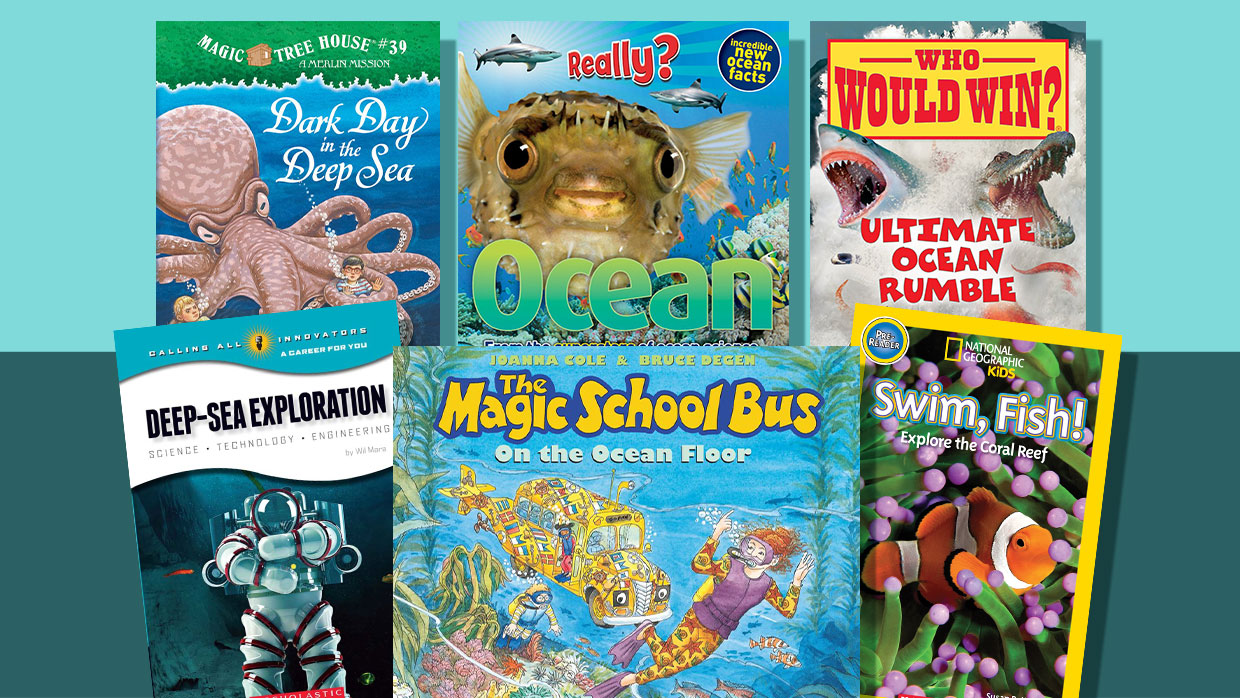 22 Fun and Informative Books About Oceans and Sea Life
