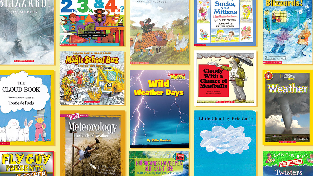 23 Must-Have Books to Teach About Weather