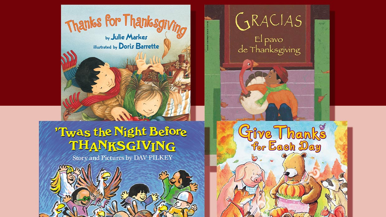 30 Books To Celebrate Thanksgiving