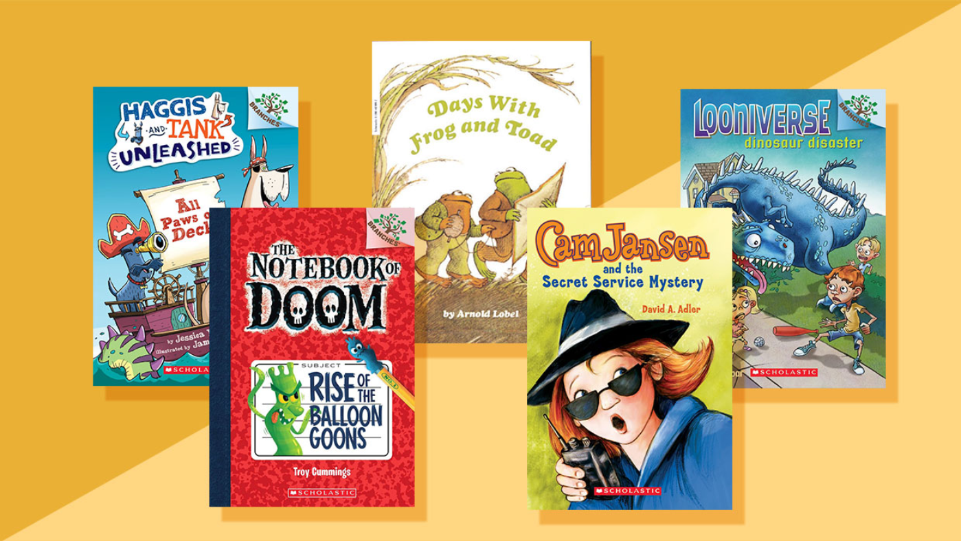 22 Chapter Books For Beginning Readers