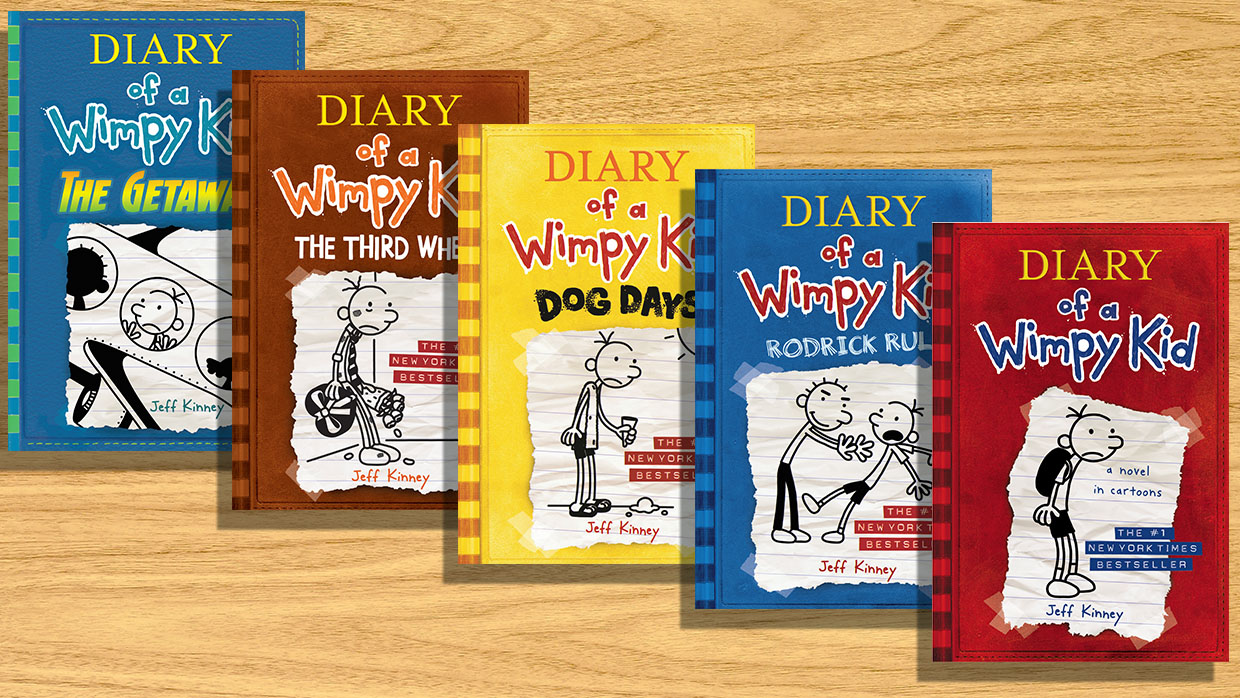 The Ultimate Diary Of A Wimpy Kid Series Book List