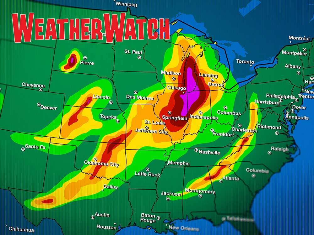 Weather Map Report.Forecast The Weather A Weather Watch Lesson For Grades 3 5 Scholastic