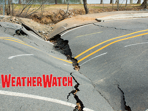 Earthquakes A Severe Weather And Natural Disasters Activity