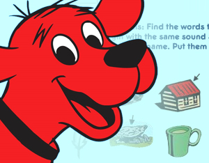 Sound Match: A Clifford Interactive Storybook Activity | Scholastic
