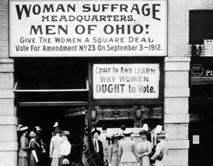 suffrage movement essay