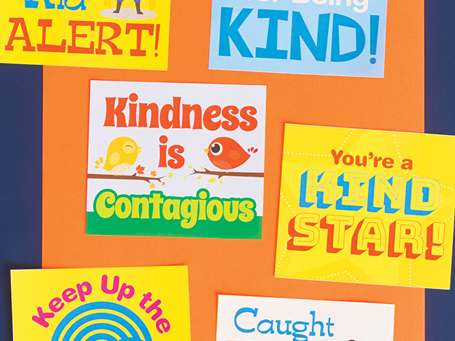 picture regarding Kindness Cards Printable identified as Printables: Kindness Playing cards Scholastic