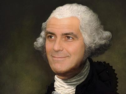 President Clooney. What else? Endofday_1