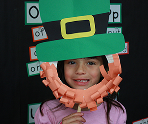 Leprechaun Masks Craft Project Scholastic