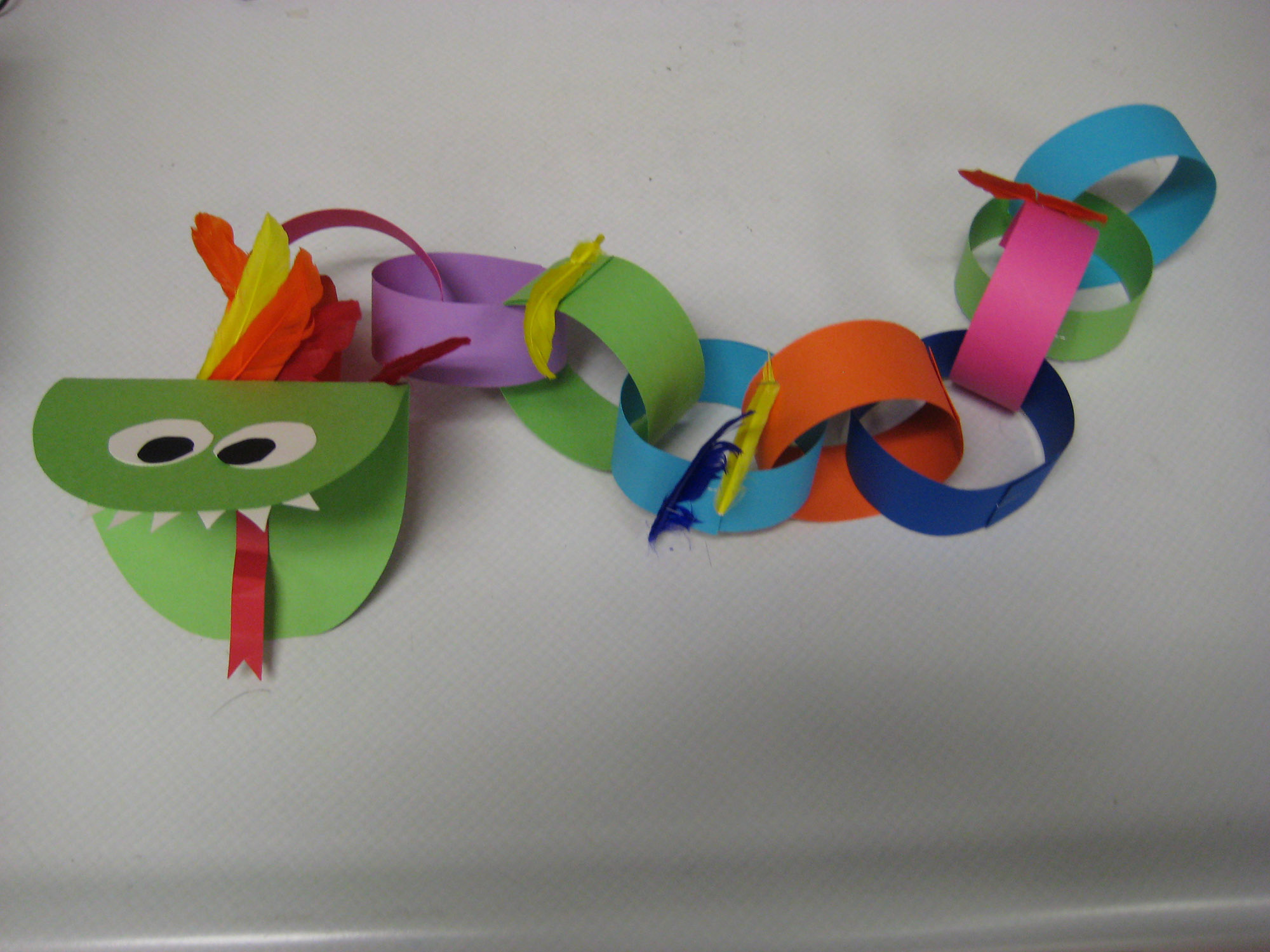 a cute colorful craft that your students will love to create for new year celebrations