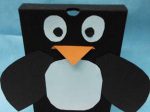 shoebox penguin craft scholastic